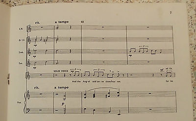 GLORIA score Peter Jenkyns CHRISTMAS music Voice Treble solo Recorders Piano
